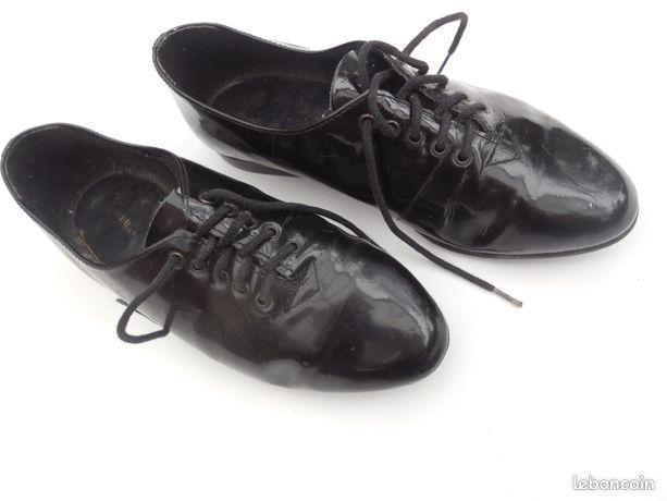 buy online 21b12 17259 Chaussure noire verni 34