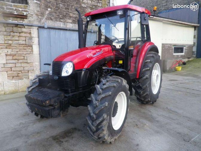 tracteur avec cabine 80 cv  14  mat u00e9riel agricole calvados