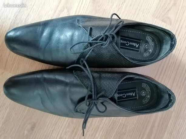 Chaussures cuir noires