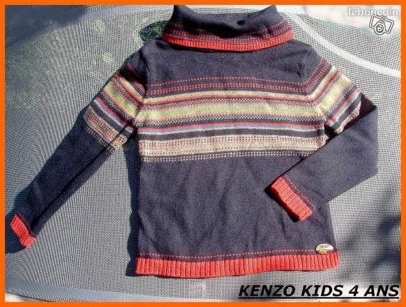 Pull fille kenzo kids original 4 ans tyseae v tements - Colissimo agence haute garonne ...