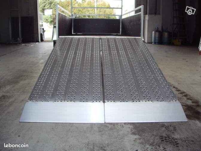 Rampe aluminium grande largeur