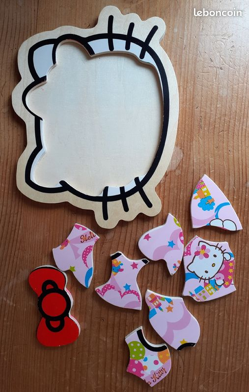 Jeux hello kitty : puzzle et hand-spinner
