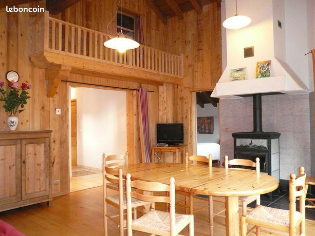 Grand appartement meublé 3* 88 m² dans chalet