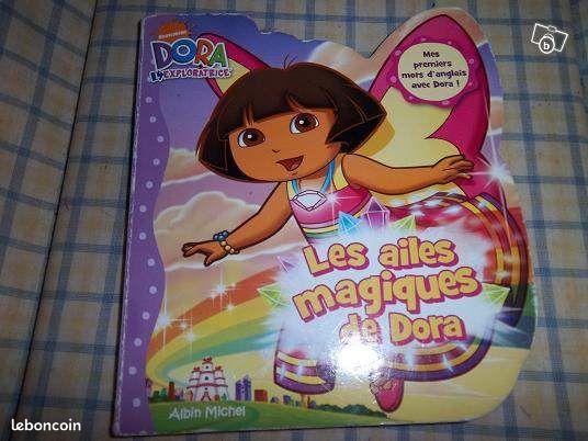 Livre Les ailes magiques de Dora (VP) - Mernel - vends livre Les ailes magiques de Dora, en bon état pour mes autres ventes, taper VP  - Mernel