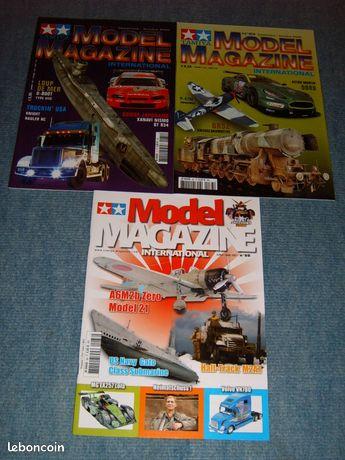 Model magazine ( tamiya ) - Hayange - VEND 2 MODEL MAGAZINE ( TAMIYA ) N°21-83-88 6 Euro chaque magazine les magazines son en parfait etat  - Hayange