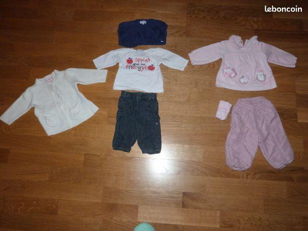 Vêtements Filles (0-24 Mois) Vêtements, Accessoires Energetic Vêtements été Fille 9 Mois