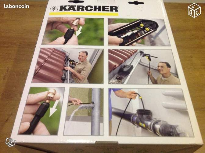 furet d boucheur de canalisations karcher 20 m prestations. Black Bedroom Furniture Sets. Home Design Ideas