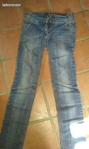 jeans fille 12 ans bikool floc49 v tements maine et loire. Black Bedroom Furniture Sets. Home Design Ideas