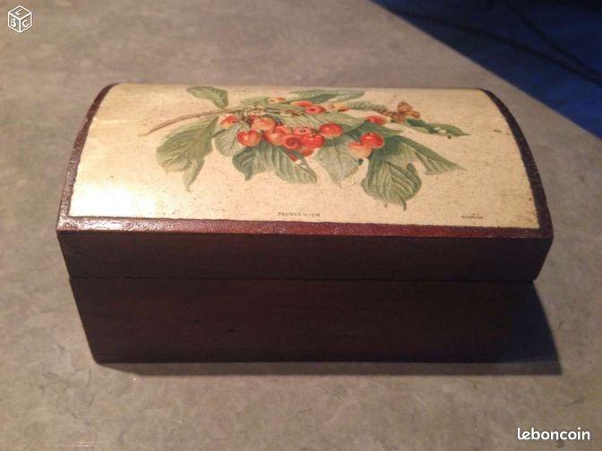 Boite en bois d corative d coration bouches du rh ne - Decoration boite en bois ...