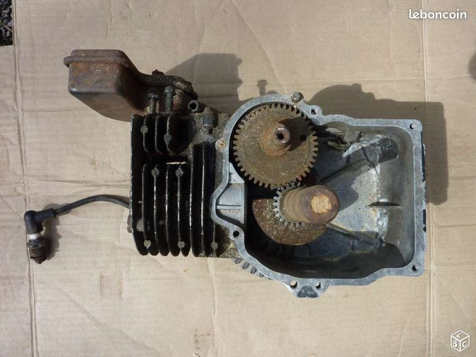 moteur tondeuse incomplet tecumseh 5 5 cv jardinage seine