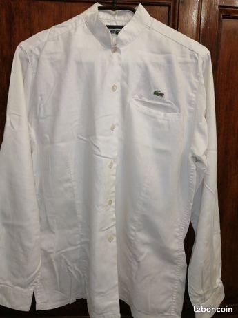Chemise lacoste blanche