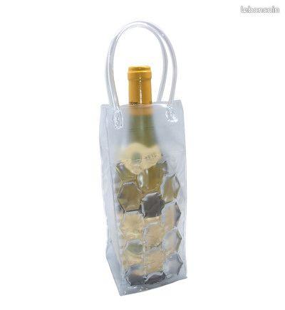 Sac rafraichisseur bouteille - transparente