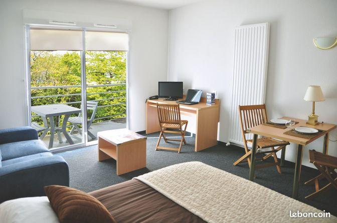 Studio meubl vannes sans frais d 39 agence locations morbihan for Location meuble vannes