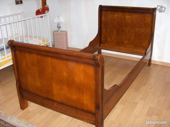 lit 1 personne sauthon. Black Bedroom Furniture Sets. Home Design Ideas