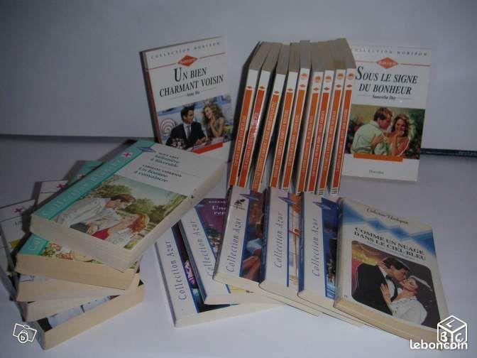 Collection harlequin - Bonneuil-en-Valois - collection horizon 22 volumes : 17 € collection blanche 5 volumes : 3€ collection noël 9 volumes : 12 € hors série 2 volumes : 1 €  - Bonneuil-en-Valois