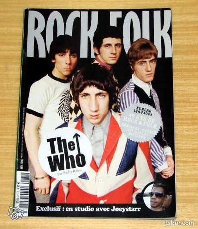 """Rock & Folk N° 471 - The WHO - Saint-Rémy - Rock & Folk N°471 - Novembre 2006 The WHO en couverture. Numéro spécial """"40 ans de Rock & Folk"""" Excellent état. FDP en sus (au tarif le plus économique)  - Saint-Rémy"""