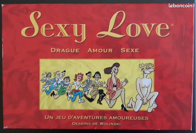 BD WOLINSKI jeu sexy love 104 cartes