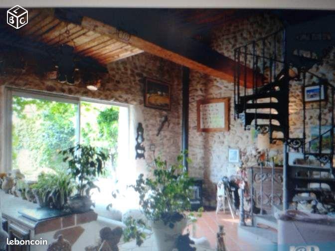 Maison loft demeure de charme atypique baixas ventes for Maison loft atypique