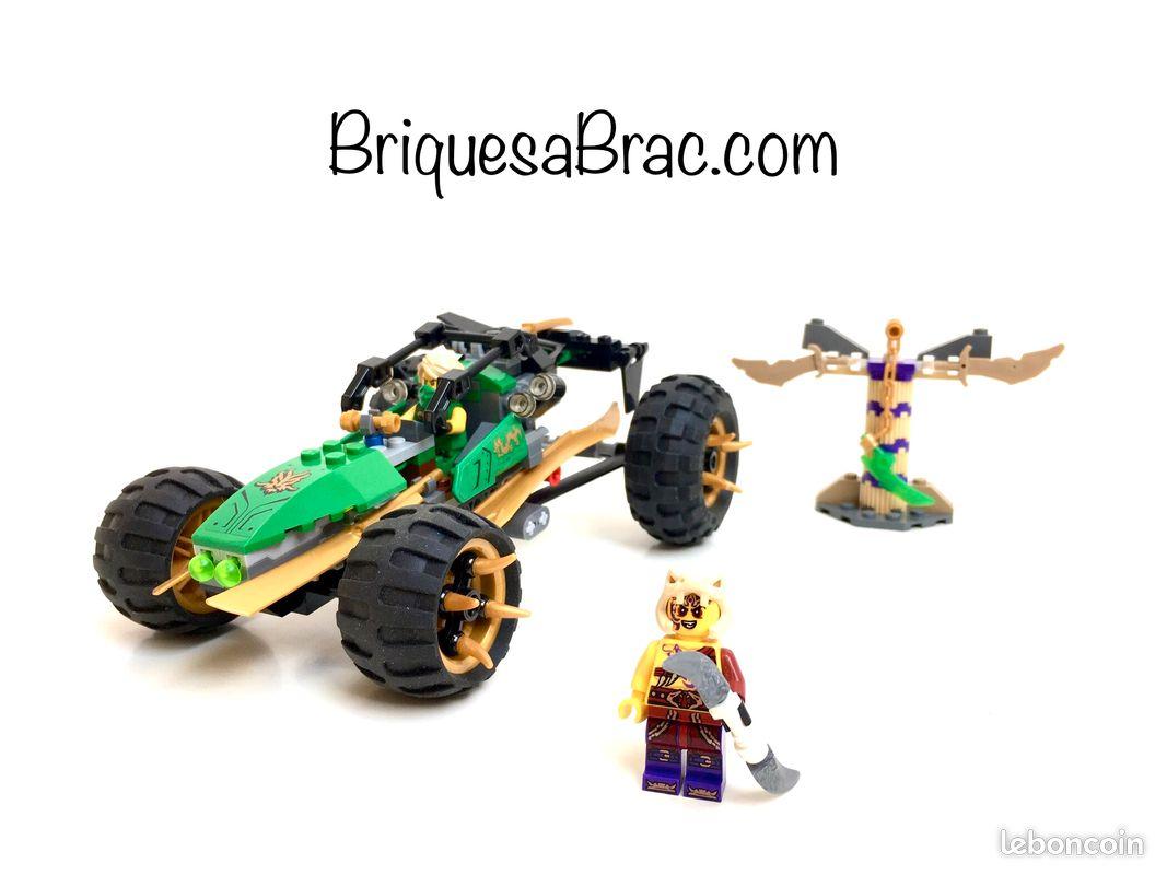 Lego ® ninjago 70755 le buggy de la jungle