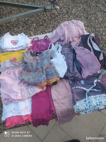 Lot vêtements fille 3 mois