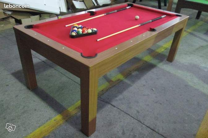 Billard table de salle manger 8 pers neuf 62 sports hobbies pas de - Table manger billard ...