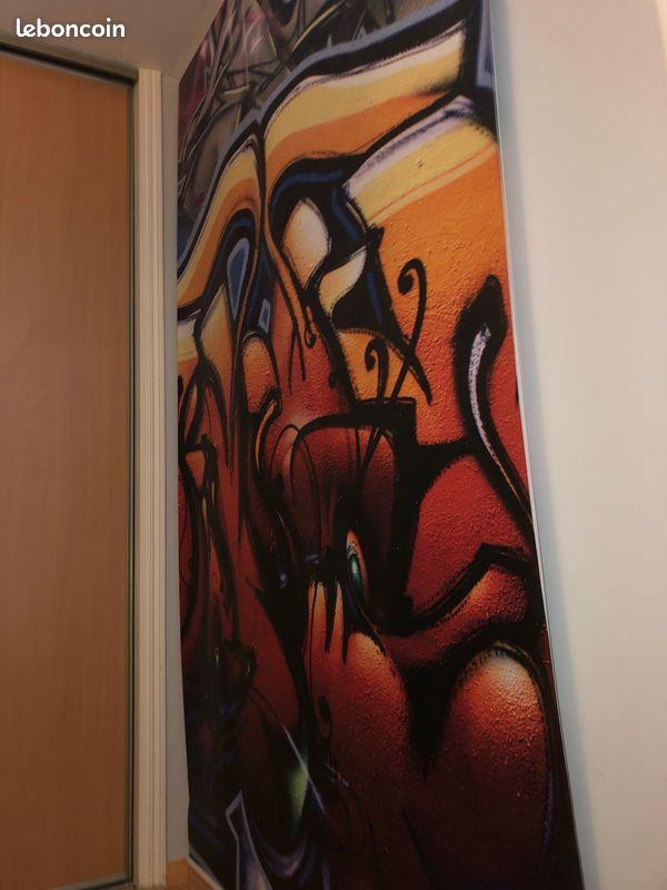 Vends graffiti toile