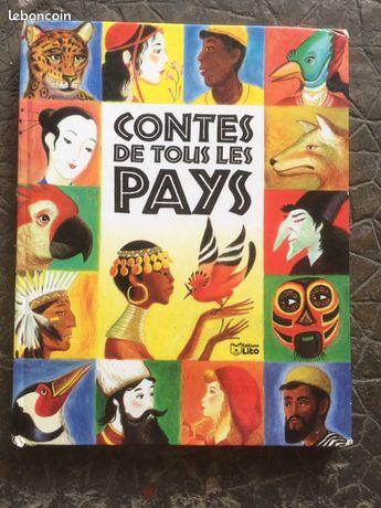 """Livre """"Contes de Tout les pays"""""""