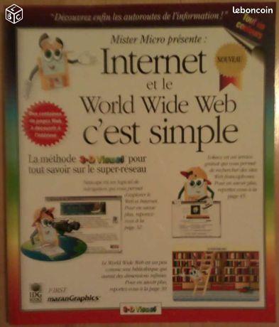 Internet et le world wide web c'est simple - Frasne - Internet et le world wide web c'est simple. Envoie possible en tarif lettre verte. Taper minautmot pour voir mes autres annonces.  - Frasne
