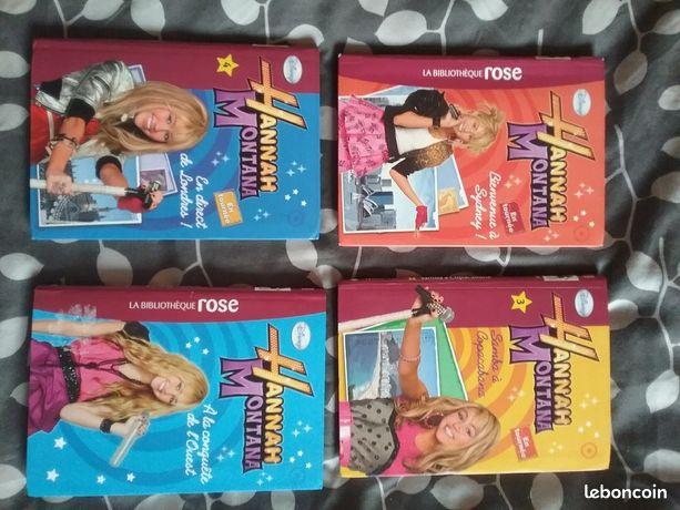 Livres Hannah Montana et High school musical