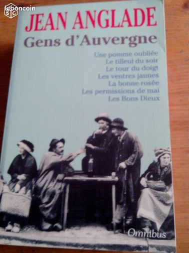 Jean anglade gens d 39 auvergne livres val de marne - Leboncoin auvergne immobilier ...