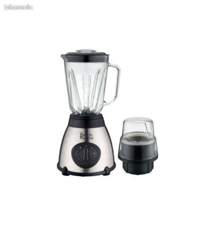 Mixer, blender en verre en inox model 1030w