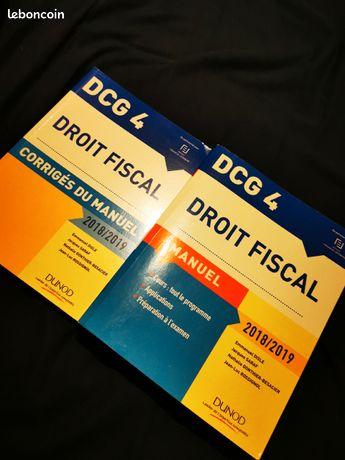 DCG Dunod Droit Fiscal 2018-2019   Corrigés
