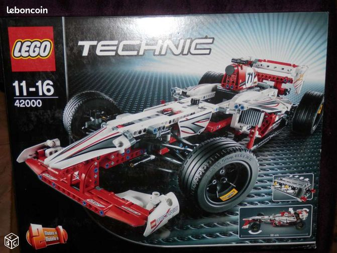 lego technic 2in1 n 42000 la voiture de f1 neuf jeux. Black Bedroom Furniture Sets. Home Design Ideas