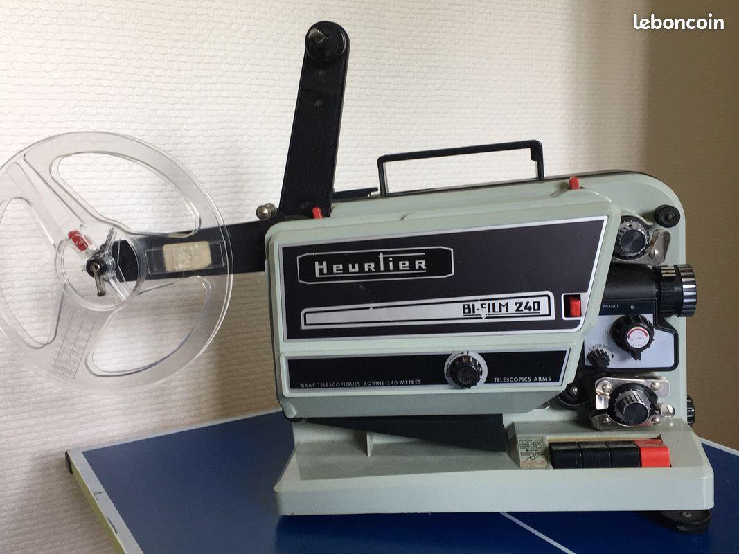 Projecteur heurtiez film super 8 mme