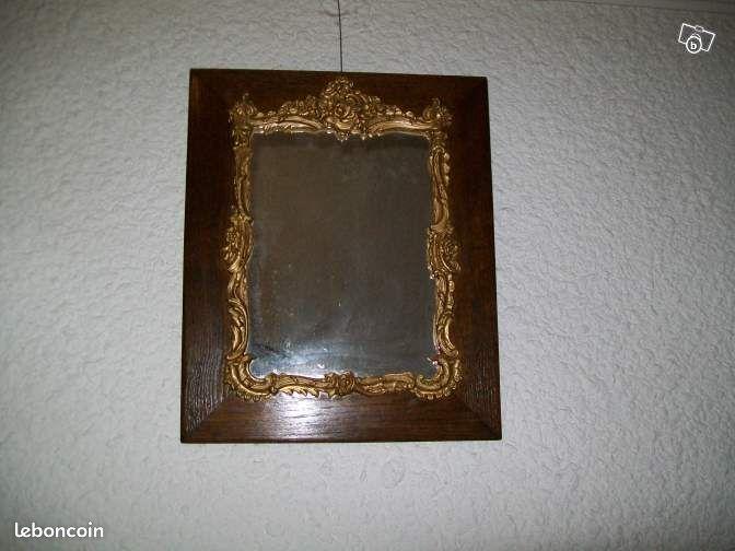 miroir ancien ann es 30 d coration haute vienne. Black Bedroom Furniture Sets. Home Design Ideas