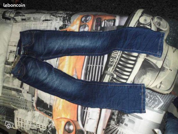eadd03d570 Sublime jeans denim slim boyfriend destroy Fishbon