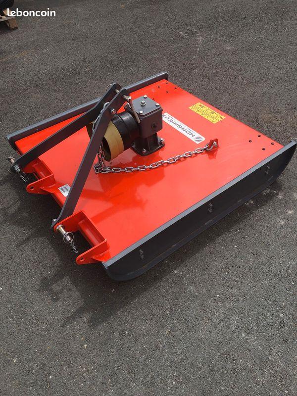 Gyrobroyeur morgnieux 100/120 cm micro tracteur