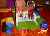 Station douche cheval Playmobil