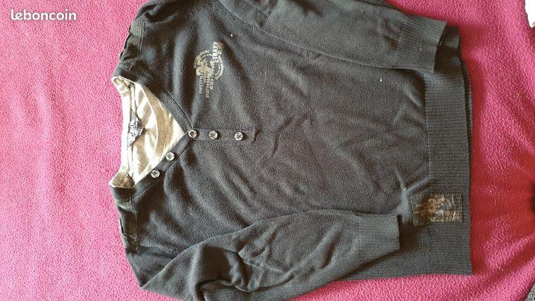 Lot de 3 pull/veste garçon 10 ans