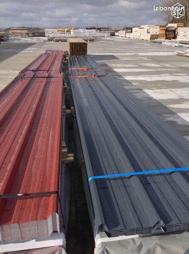 Bac acier 1er choix 7 99 m2 ttc bricolage pas de calais - Bac acier isole prix m2 ...