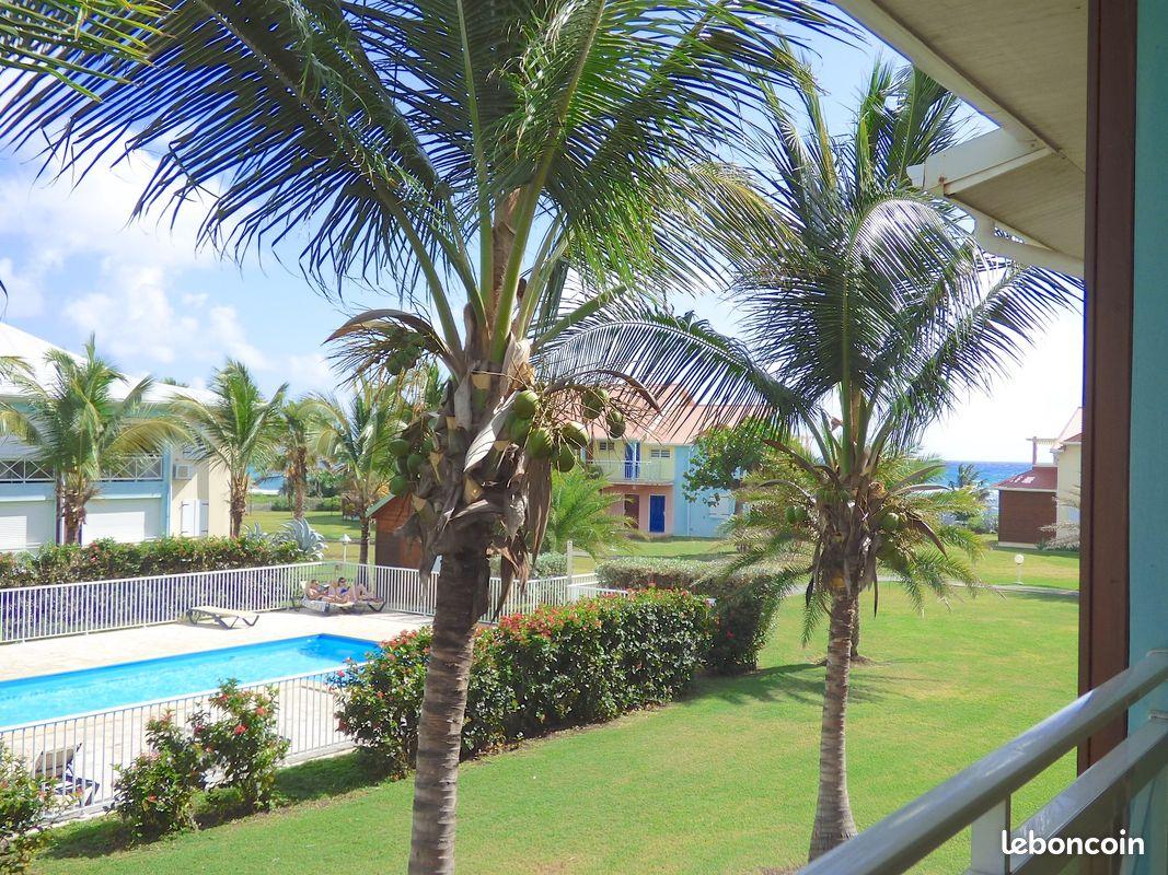 Nouveau vue mer & piscine crystal beach : t3 de 75 m2, 2 piscines et accès direct plage