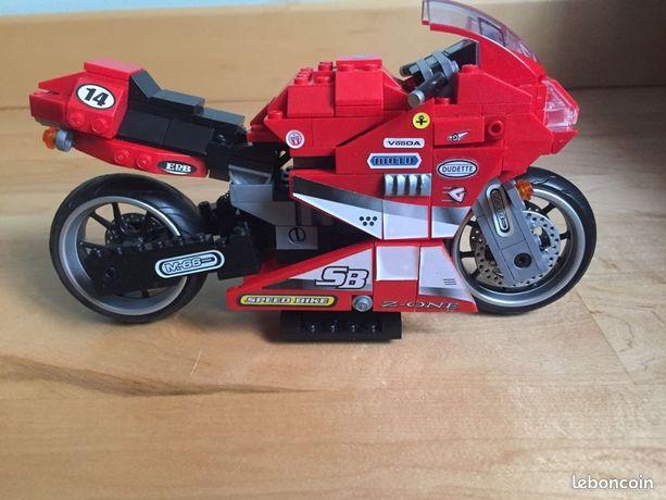 MEGA BLOKS Speed Bike - TBE (image 1)