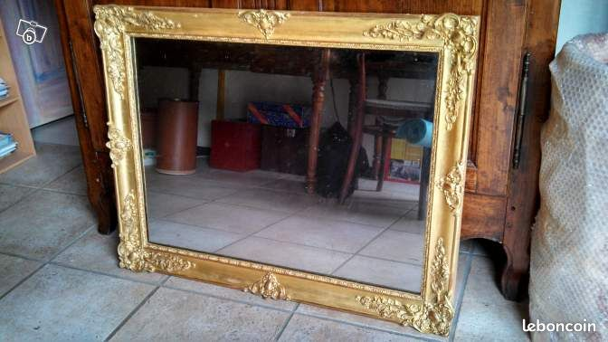 miroir ancien restaur d coration vend e. Black Bedroom Furniture Sets. Home Design Ideas