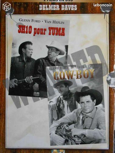 COWBOY ET 3H10 POUR YUMA 2 DVD Glenn Ford - Epernay - COWBOY ET 3H10 POUR YUMA 2 DVD Glenn Ford - Epernay