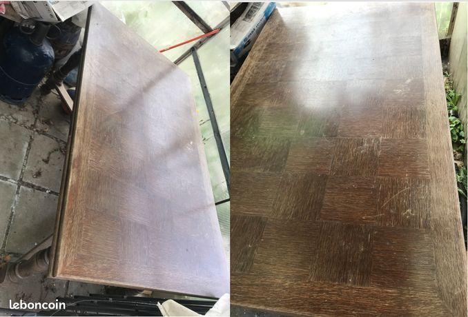 Ancienne Table rectangulaire en bois