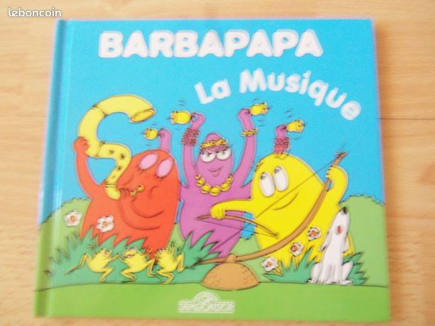 Barbapapa - Marignane - Livre Barbapapa la musique Etat comme neuf  - Marignane
