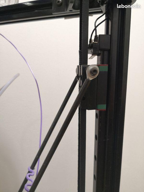 Imprimante 3d avec caisse de rangement