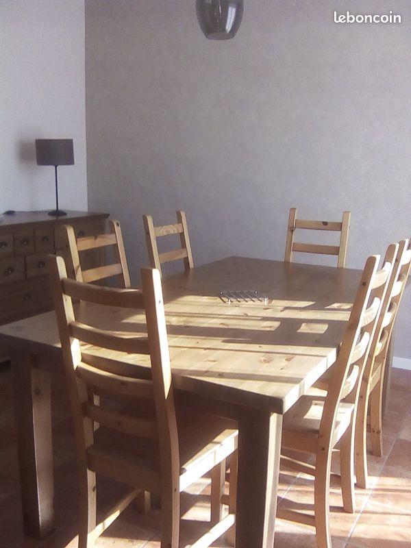 Vente ensemble meubles salon salle à manger