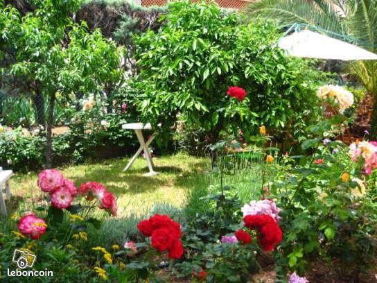 Appartement rdc dans une villa jardin botanique locations for Appartement rdc jardin