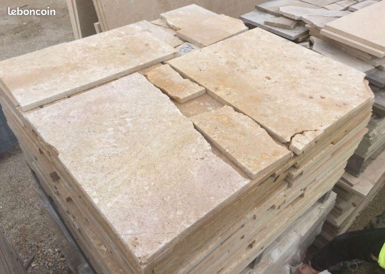 Opus incertum en pierre naturelle de bourgogne